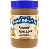 Peanut Butter & Co., Smooth Operator, Натуральное Арахисовое Масло, 16 унций (454 г)